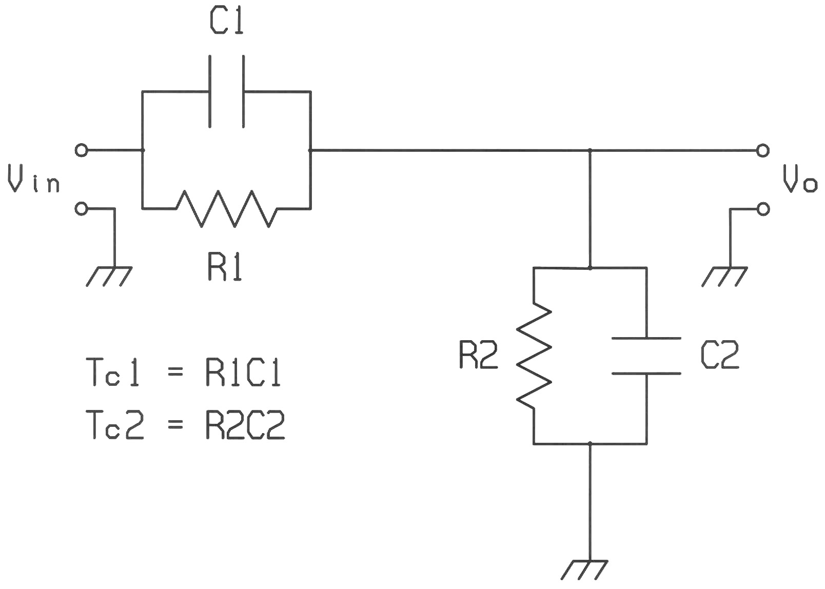 Dc To 1ghz Probe Current In Series And Parallel Circuits Figure 1 Rc Voltage Divider
